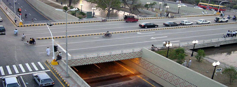 F.C. College Canal Crossing Underpass Lahore-Pakistan